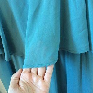a7cf58787f2 Show Me Your MuMu Dresses - SMYM CAITLIN RUFFLE MAXI DRESS ~ POOLSIDE  CHIFFON